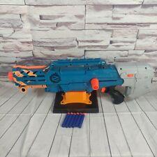 NERF Zombie Strike Longshot Blaster Toy With 6 Round Magazine and 6 Elite Darts