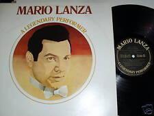 Mario Lanza-a Legendary Performer-lp-rca-1750 Nm