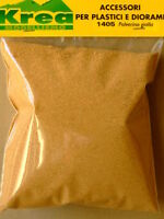 Polverina giallo ocra per plastico o diorama gr. 45 - Krea 1405