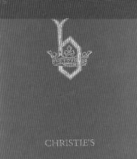 Christie's Bute Collection of Art Part I & II w/ Slipcase Auction Catalogs 1996
