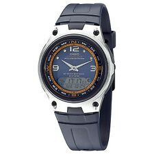 Casio AW82-2A Mens Fishing Gear Moon Data Watch Blue Dial 50M 10-Year Battery