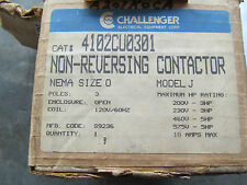 Challenger Contactor 4102CU0301 Size 0 120 V Coil