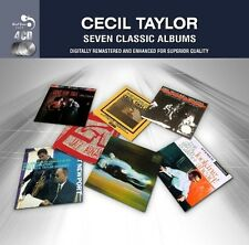 Cecil Taylor SEVEN CLASSIC ALBUMS Jazz Advance WORLD OF Looking Ahead NEW 4 CD