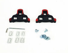Shimano SPD-SL Compatible Road Bike Pedal Cleats, Red