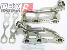 OBX Headers for 1996 to 2000 S10 Sonoma w/o Air Injection 4.3L 2WD V6 Stainless