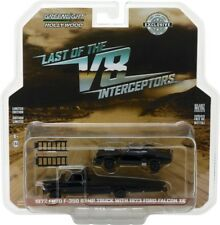 Greenlight Hobby Exclusive 1972 Ford Ramp Truck with Last of the v8 Interceptor
