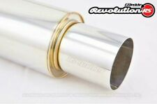"""GREDDY REVOLUTION RS UNIVERSAL MUFFLER TIP 63.5MM / 2.5"""" INLET AUTHENTIC"""