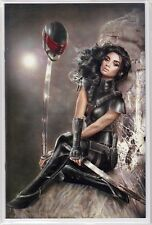 GI JOE SILENT OPTION #1 NYCC Virgin Natali Sanders VARIANT *RARE* Unmasked /350