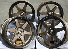 "19"" BRONZE GTR ALLOY WHEELS FIT BMW E46 E90 E91 E92 E93 Z3 Z4 F30 F31 F32 F33 X3"