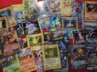 Pokemon Card Lot 50 TCG Cards- V, GX EX MEGA Guaranteed Rare HOLO In Every Pack!