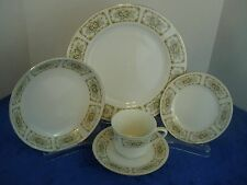 Happy Home China Elegance Pattern 5 piece Place Setting