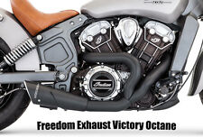 VICTORY OCTANE Freedom Exhaust 2:1 Black