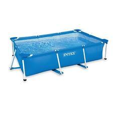 Intex 28270 Schwimmbad 220x150x60 cm Schwimmbecken Familienpool Rechteck Frame
