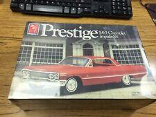 AMT Prestige 1963 Chevrolet Impala SS 1/25 Model Kit