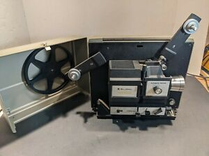 Nice Bell and Howell  Multi Motion 467A Film Projector 8mm Super 8 Works