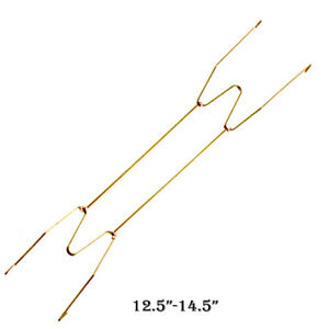 """W Type Hook 8"""" to 16"""" Inch Wall Display Plate Dish Hanger Holder Home Decoration"""