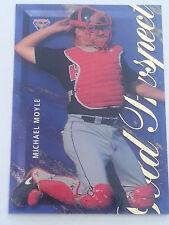 1995 Futera ABL Baseball Gold Prospect Insert Card GP3 Michael Moyle.