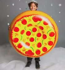 GIANT SUPREME PIZZA PIE Inflatable Snow Tube Winter Sled Pool Float - BigMouth