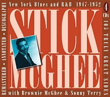 Stick McGhee - New York Blues And R And B 19471955 [CD]