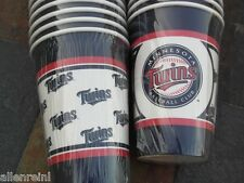 20 - 16 oz. Minnesota Twins PartyWare Paper Cups - Tailgate Party