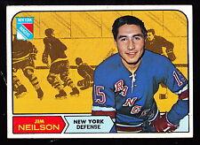 1968-69 TOPPS #70 JIM NEILSON RANGERS