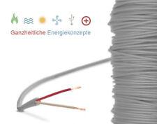 Silikonkabel Fühler Verlängerung Silikonleitung bis 200°C 2-Leiter Sauna