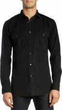 Military Slim Collared Casual Shirts & Tops for Men