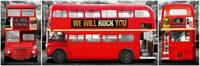 London Bus - Vista / Door Poster 158cm x 53cm new and sealed