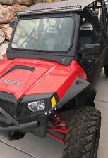 Polaris RZR windshield w/ wiper auto safety Glass adj bottom vent 800 900xp 570