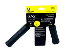 Ergon GA2 Single Twist Shift Locking Bike Grips - Black - MTB/Gravity/Trail