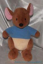 """Adorable Disney Store Exclusive Plush 12"""" Pooh Friend Roo The Kangaroo Sewn Eyes"""
