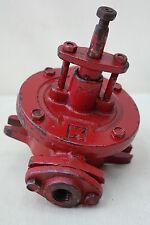 VECCHIO DDR POMPA PER FUSTI OLIO COMBUSTIBILE A MANO Diesel motore TRASMISSIONE
