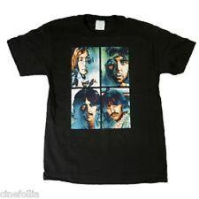 Psychedelic BEATLES Paul John George Ringo LET IT BE (M) T-Shirt