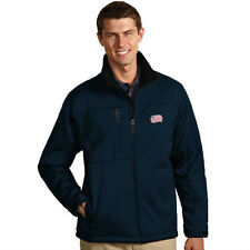 "NWT Mens New England Revolution ""Traverse"" Bonded Softshell Embroidered Jacket M"