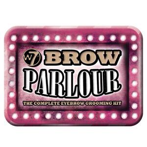 W7 Cosmetics - Eyebrow Grooming Kit Powder - Wax Tweezers Brush Comb Highlighter