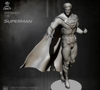 1/24 75MM Resin Figure Unpainted Model Kit Superman is Coming Unassembled Resin