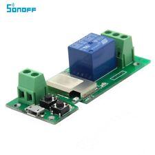 NEW NEW SONOFF 1 Channel Inching/Self-Locking WiFi Wireless Switch 5V PSF