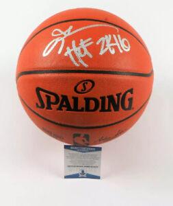"Allen Iverson Signed Spalding Indoor/Outdoor Basketball ""HOF 2016"" Inscription"