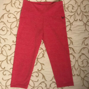 Justice Pink Capri Leggings  - Girls Size 8 - Heavy and NWOT