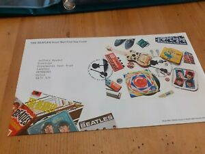 Beatles Mini Sheet Fdc