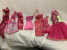 Barbie Pink Dress Lot