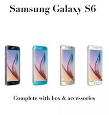SAMSUNG Galaxy S6 ORO PLATINO Sbloccato in scatola likenew PLUS Gratis Vetro Temperato