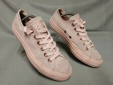 Converse All Star Women's Pink Suede Plimsolls Trainers Size UK 5 EU 37.5
