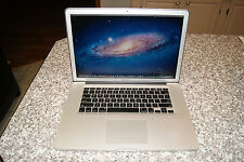 2012 MACBOOK PRO 15 MATTE HI RES, i7 2.7 GHZ QUAD,1Gb NVID, 2TB SSD HYBRID,16gb