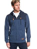 Quiksilver keller block blue nights heather hoodie 2020 felpa NEW S M L XL SN...