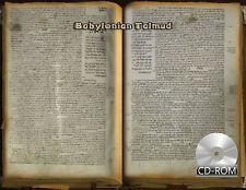 Babylonian Talmud - the only surviving manuscript - 1342 AD Hebrew