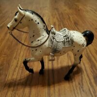 "VINTAGE ""BREYER"" CHEYENNE WESTERN PRANCING #115 1963-1971 HORSE WITH SADDLE"