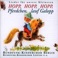 Hopp,Hopp,Hopp,Pferdchen,Lauf von Rundfunk Kinderchor | CD | Zustand gut