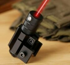 Tactical Red Laser Beam Sight Scope w/ Mount for Gun Rifle Pistol Picatinny