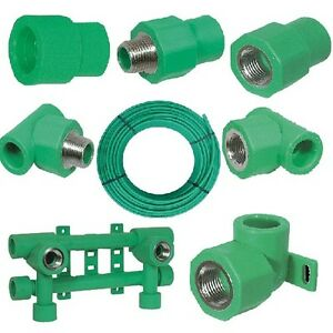 Fusiotherm Aquatherm, Aqua-Plus 20 mm Fittings PPR, Verschraubung, Halter usw.